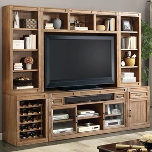Parker House Hickory Creek 6 Piece TV Console Set