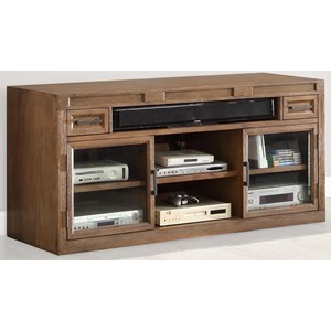 "Parker House Hickory Creek 63"" TV Console with Power Center"