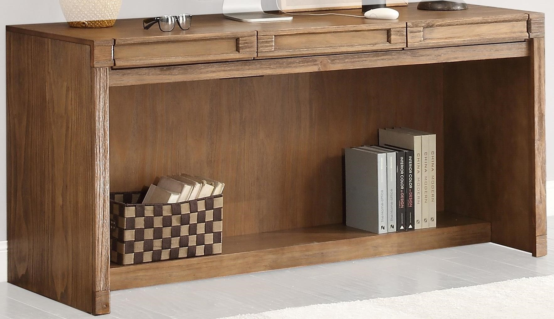 """Parker House Hickory Creek 63"""" In-Wall Desk with Power Center - Item Number: HIC-915"""