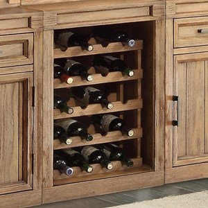 "Parker House Hickory Creek 21"" Wine Rack Base"