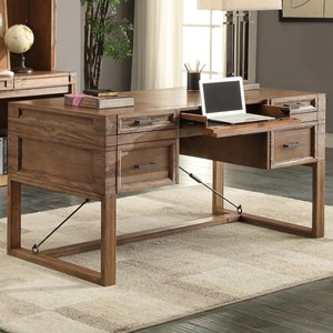 "Parker House Hickory Creek 60"" Writing Desk with Power Center"