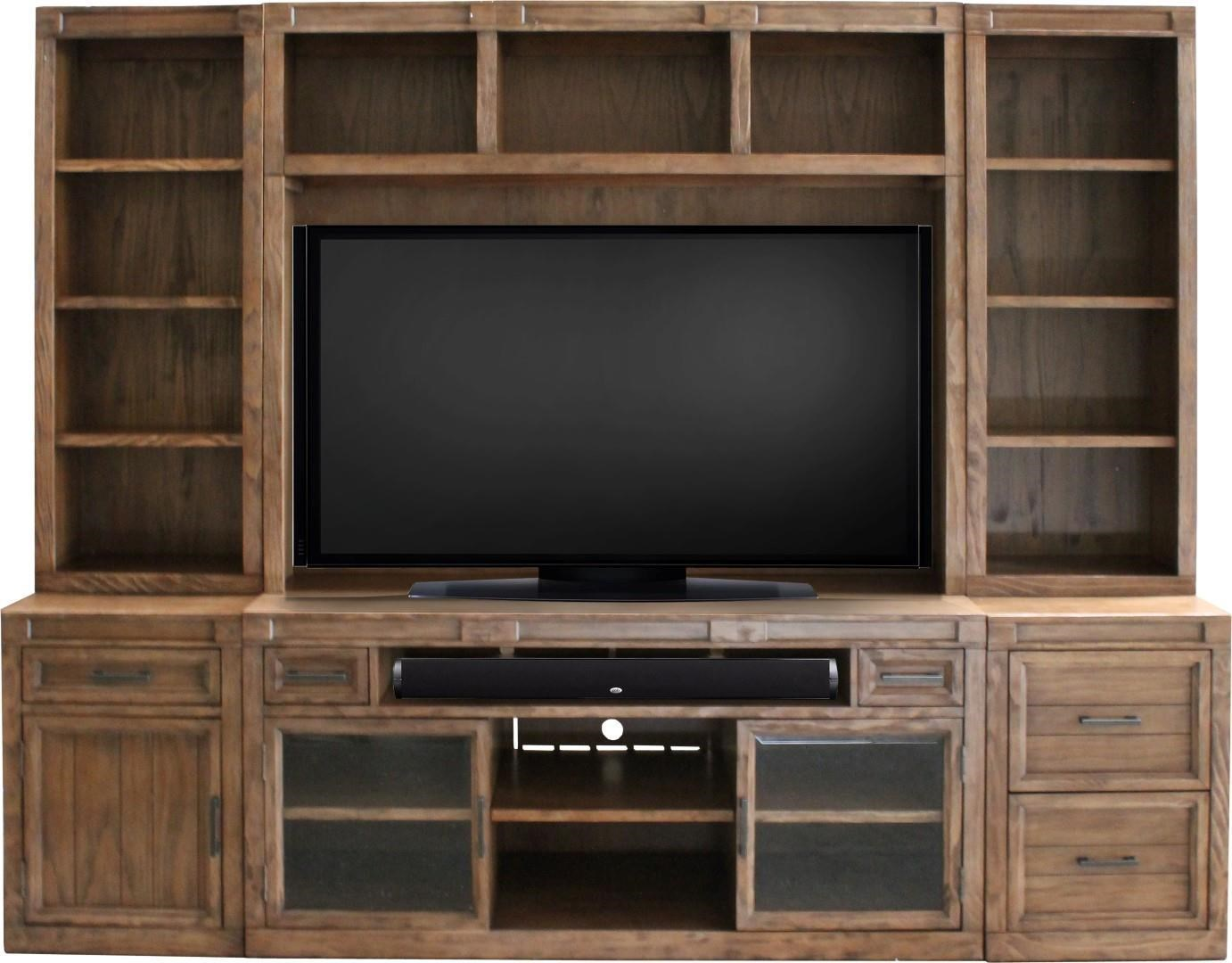 Morris Home Furnishings Hickory Hills Hickory Hills 6 Piece Wall Unit - Item Number: 258843892