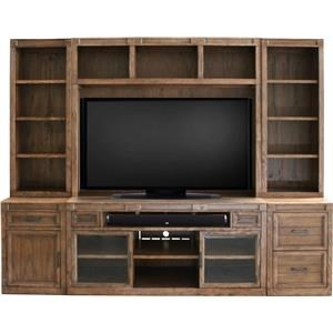 Parker Scott Hickory Hills Hickory Hills 6 Piece Wall Unit