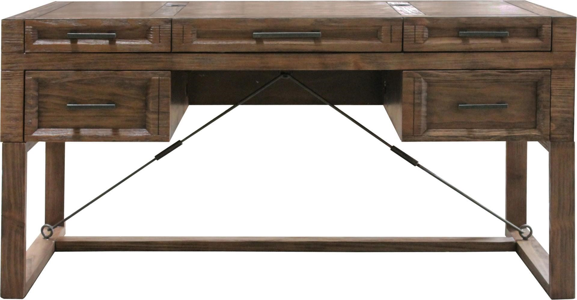 "Parker Scott Hickory Hills Hickory Hills 60"" Writing Desk - Item Number: 454476686"