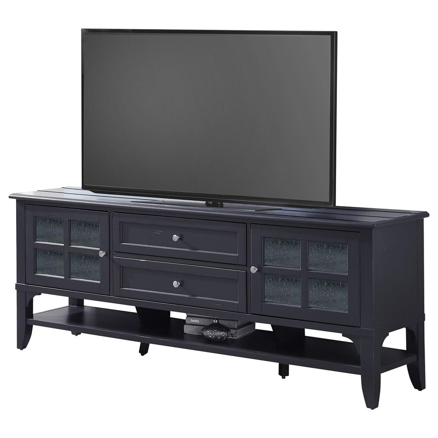 76 in. TV Console