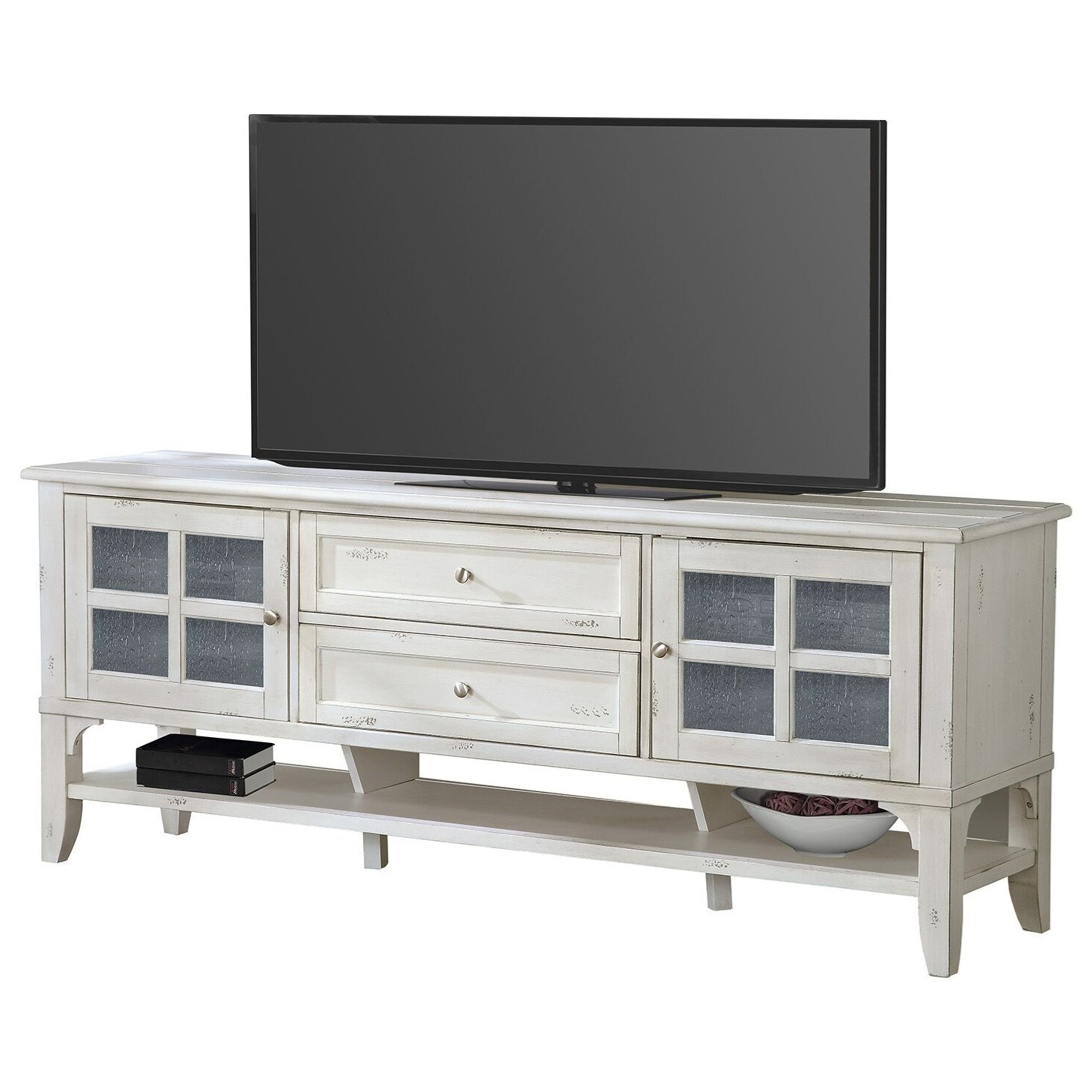 "Lenox Lenox 76"" TV Console by Parker House at Morris Home"
