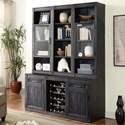 Parker House Hudson Bookcase Cabinet - Item Number: HUD-2x930+940+2x960T+950T