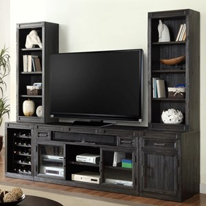 Parker House Hudson 5 Piece TV Console Set