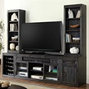 Parker House Hudson 5 Piece TV Console Set - Item Number: HUD-912+930+904+2x950T