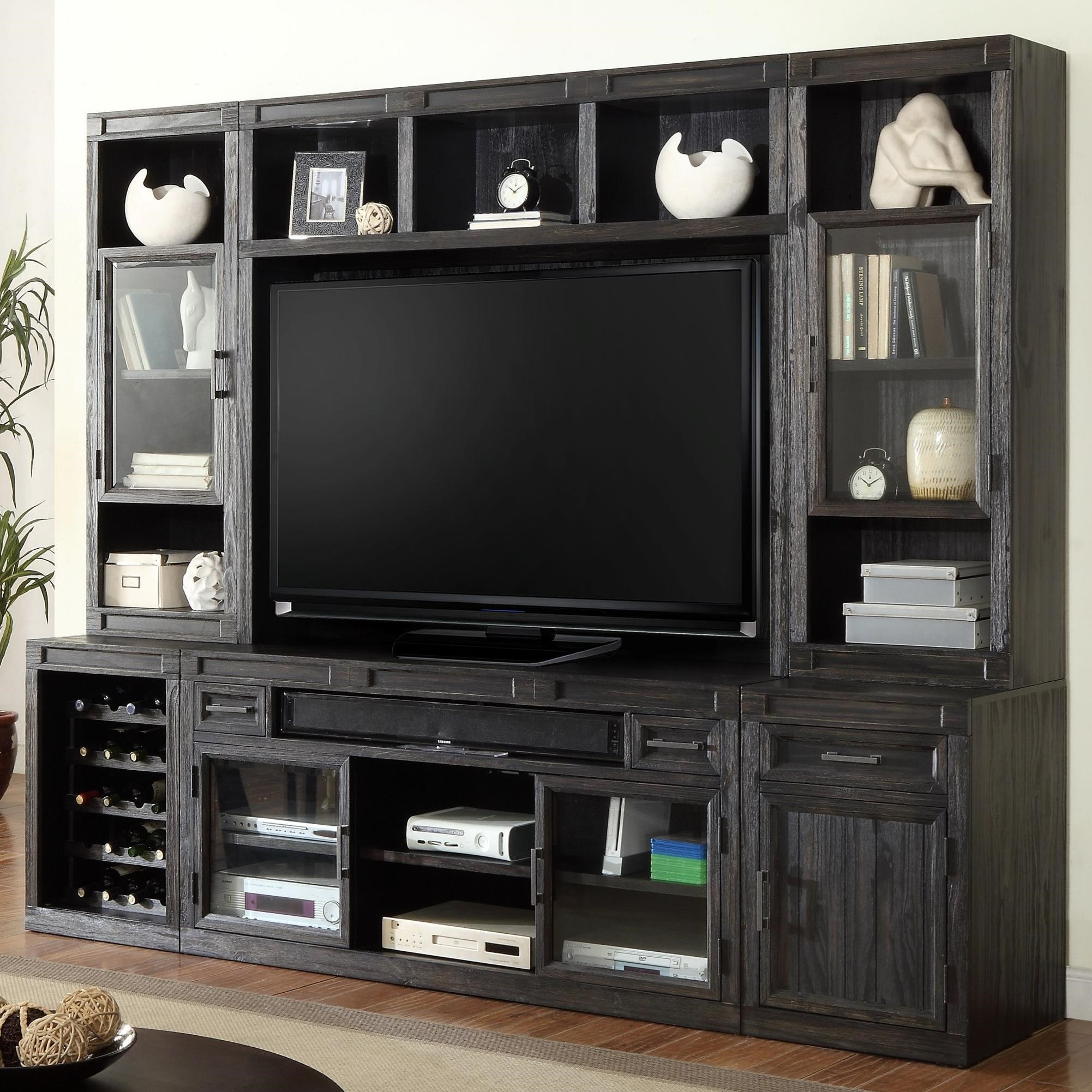 Parker House Hudson 6 Piece TV Console Set - Item Number: HUD-912+930+940+905H+2x960T