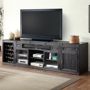 Parker House Hudson 3 Piece TV Console Set
