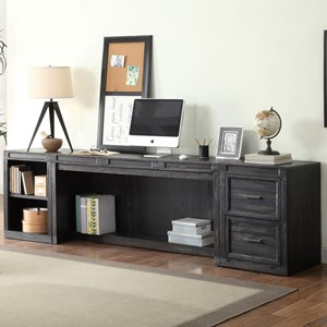 Parker House Hudson 3 Piece Desk and Storage Set