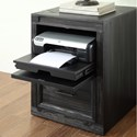 "Parker House Hudson 21"" Printer/File Base - Item Number: HUD-920"