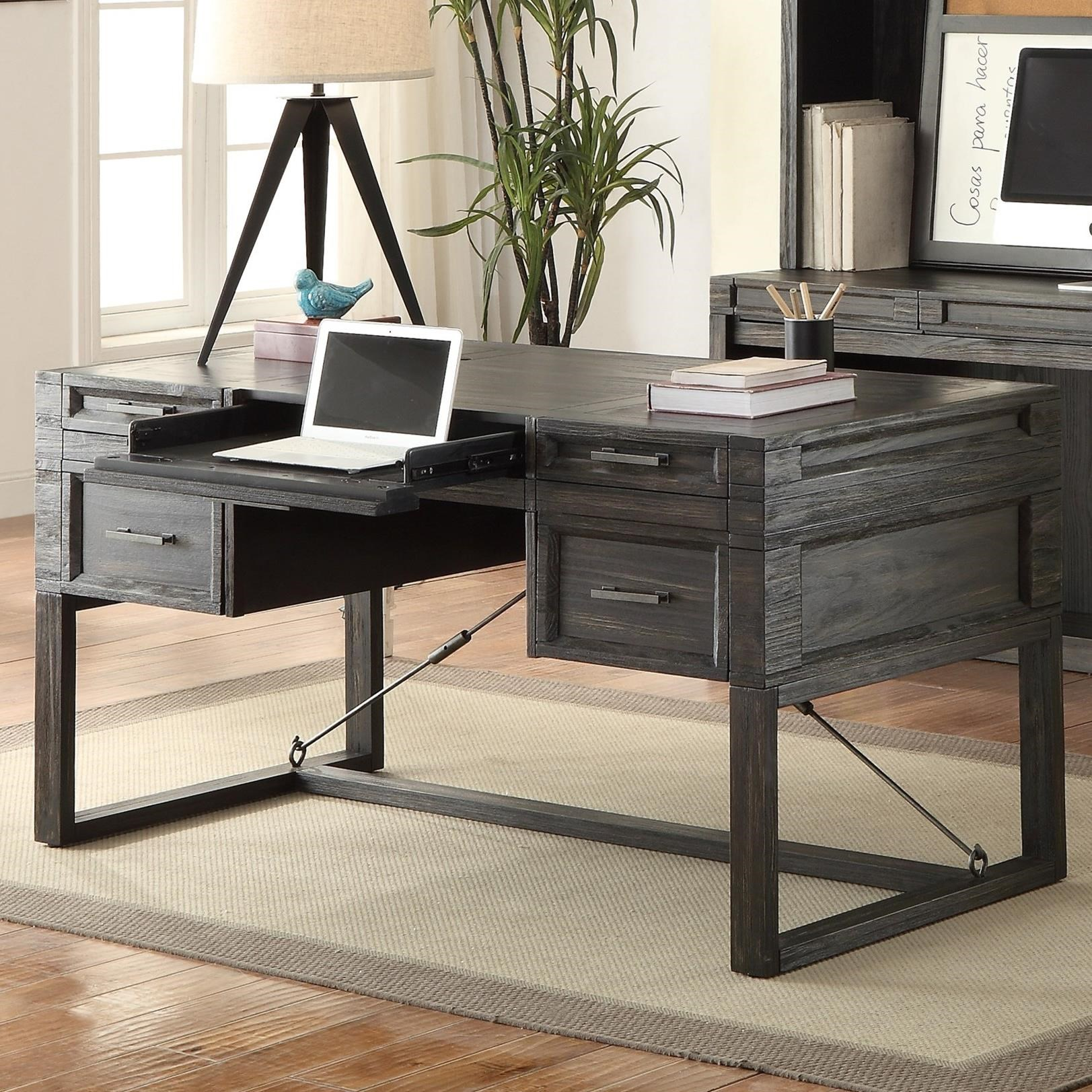 "Parker House Hudson 60"" Writing Desk with Power Center - Item Number: HUD-985"