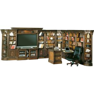 Parker House Huntington Large Wall Unit Home Office