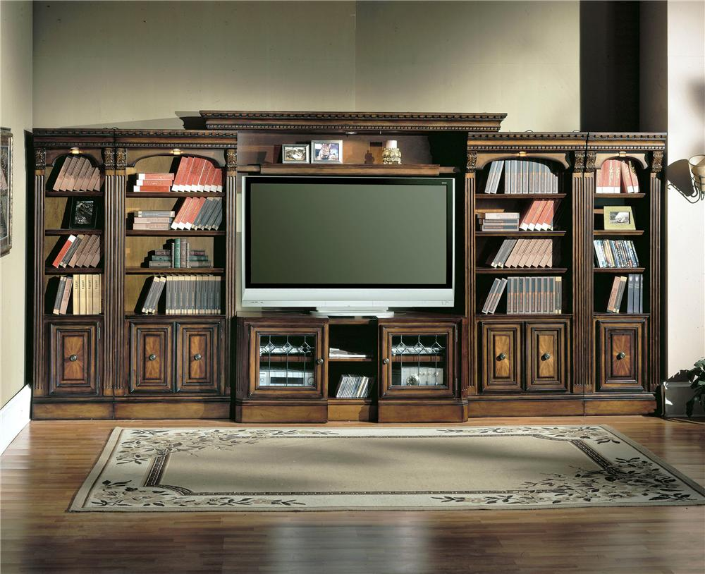 Parker House Huntington Large Bookcase Entertainment Center  - Item Number: Hun-LEC