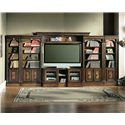 Parker House Huntington Large Entertainment Center Wall Unit - Hun-LEC