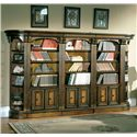 Parker House Huntington Small Bookcase Wall - Item Number: Hun-SBW