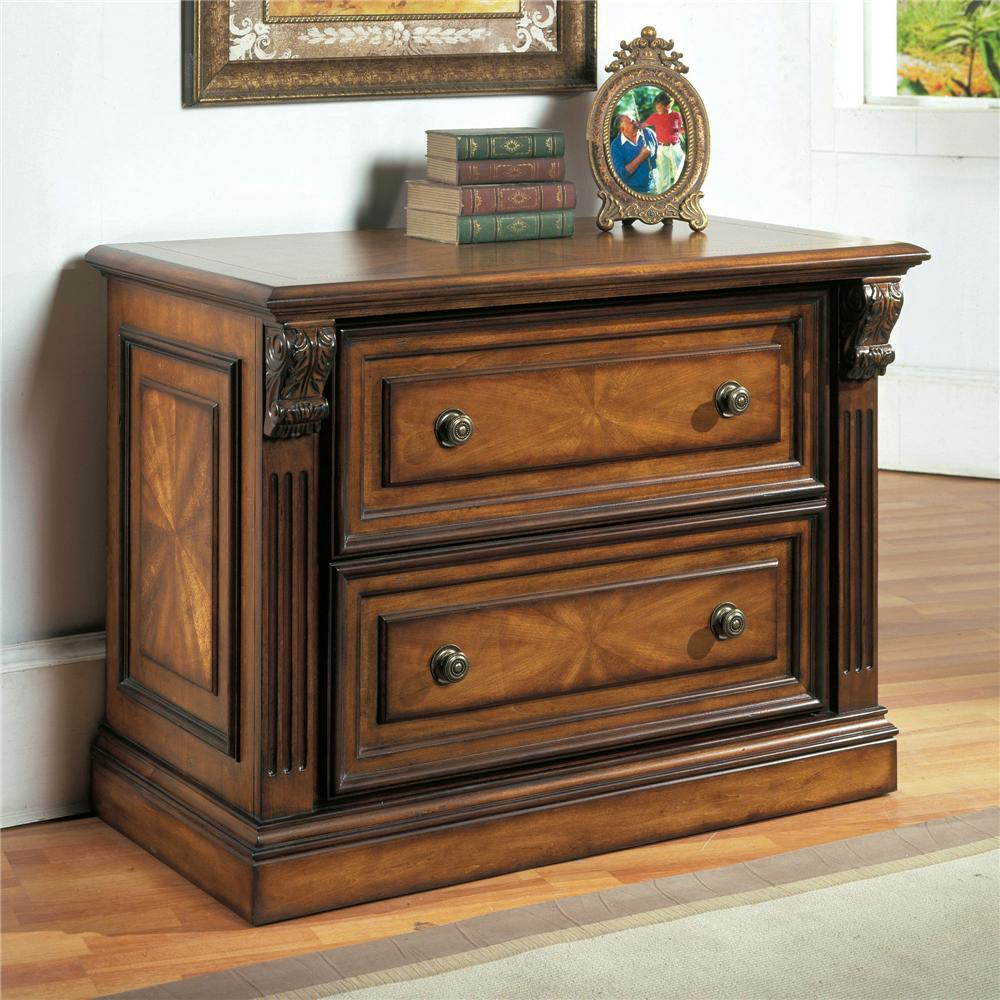 Parker House Huntington 2 Drawer Lateral File - Item Number: Hun475