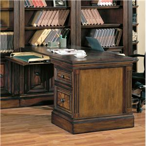 Parker House Huntington 2 Piece Peninsula Desk