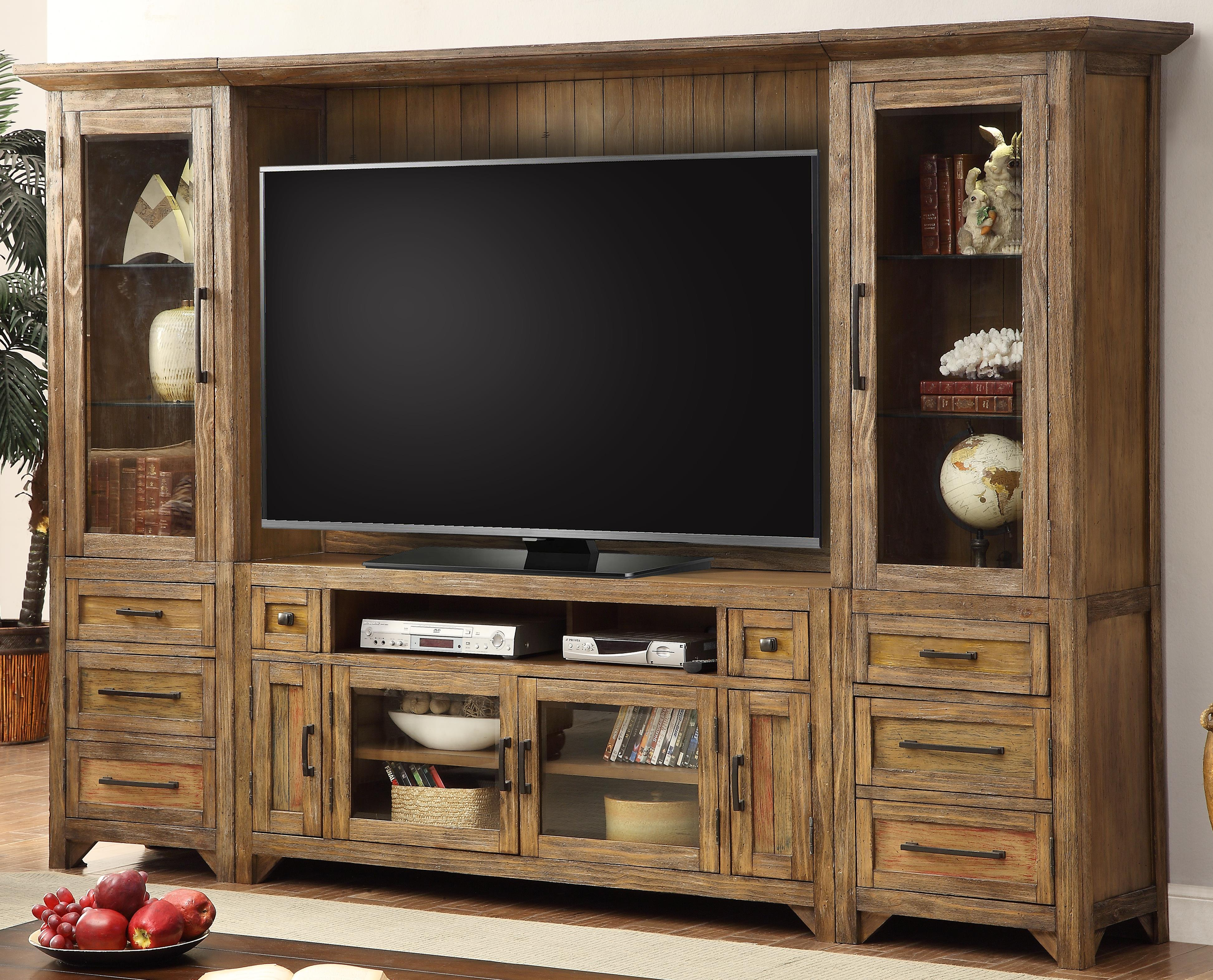 Parker House Hunts Point 4pc Entertainment Wall - Item Number: HPT-100-4