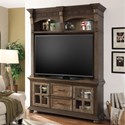 Parker House Laredo Entertainment Console and Hutch - Item Number: LAR-680-2