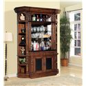 Parker House Leonardo 4 Piece Bar Base and Hutch  - LEO465-2+2X450