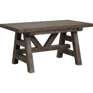 Rustic Lodge-Style Desk