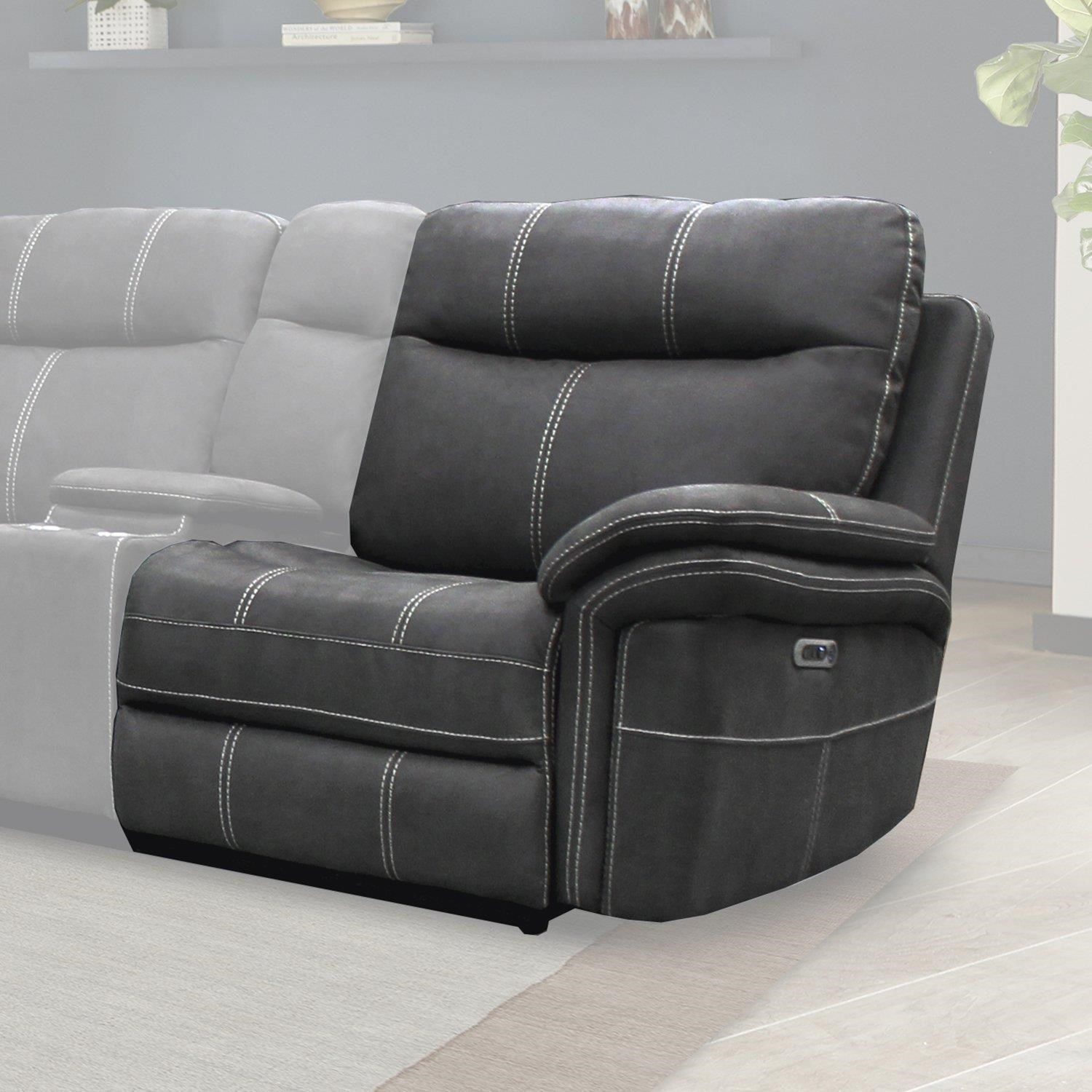 mason Power Right Arm Facing Recliner by Parker House at Johnny Janosik
