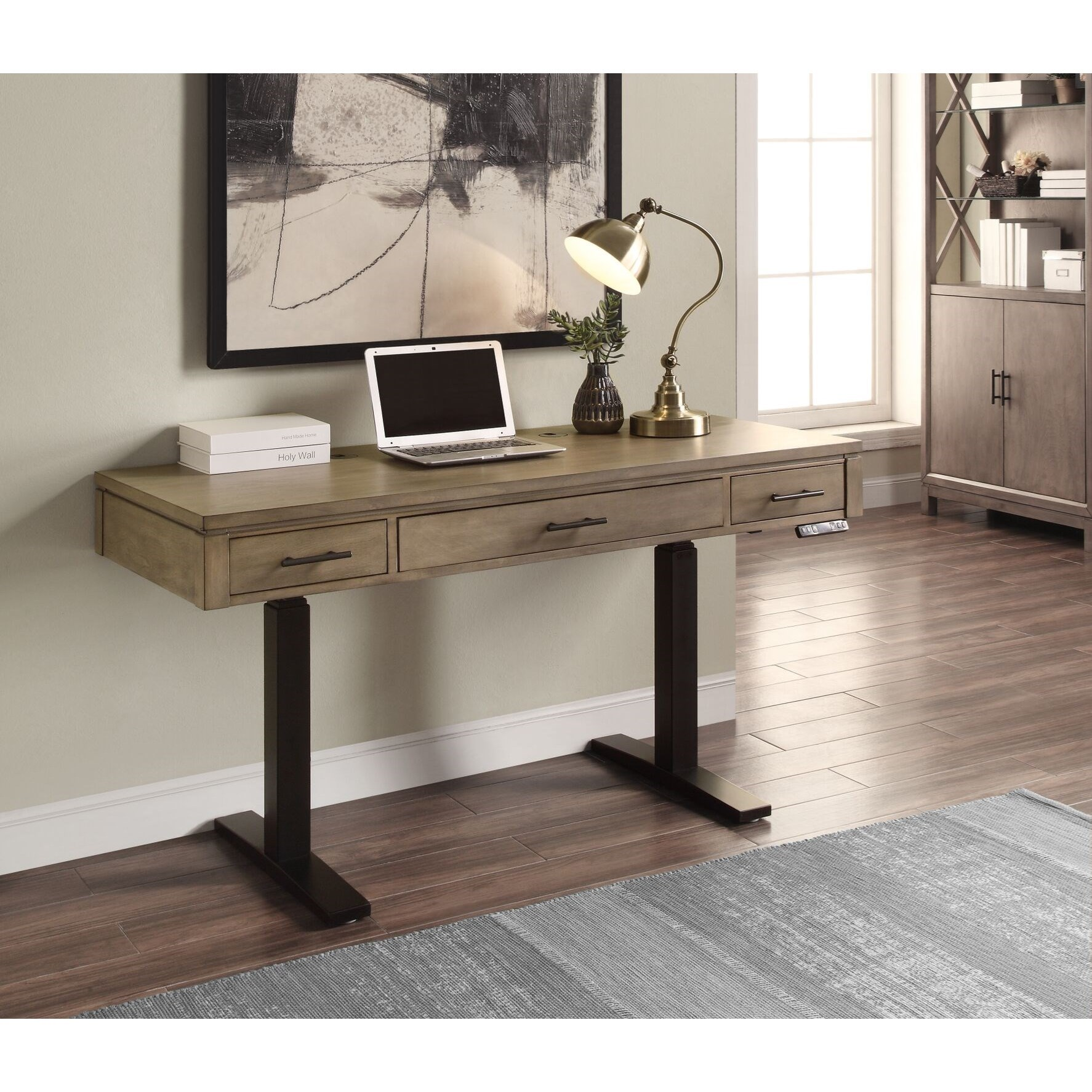 "58"" Power Lift Desk"