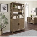 Parker House Midtown Bunching Bookcase w/ Doors - Item Number: MID-330