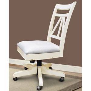 Parker House Nantucket Armless Desk Chair