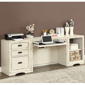 Parker House Nantucket 3 Piece Desk