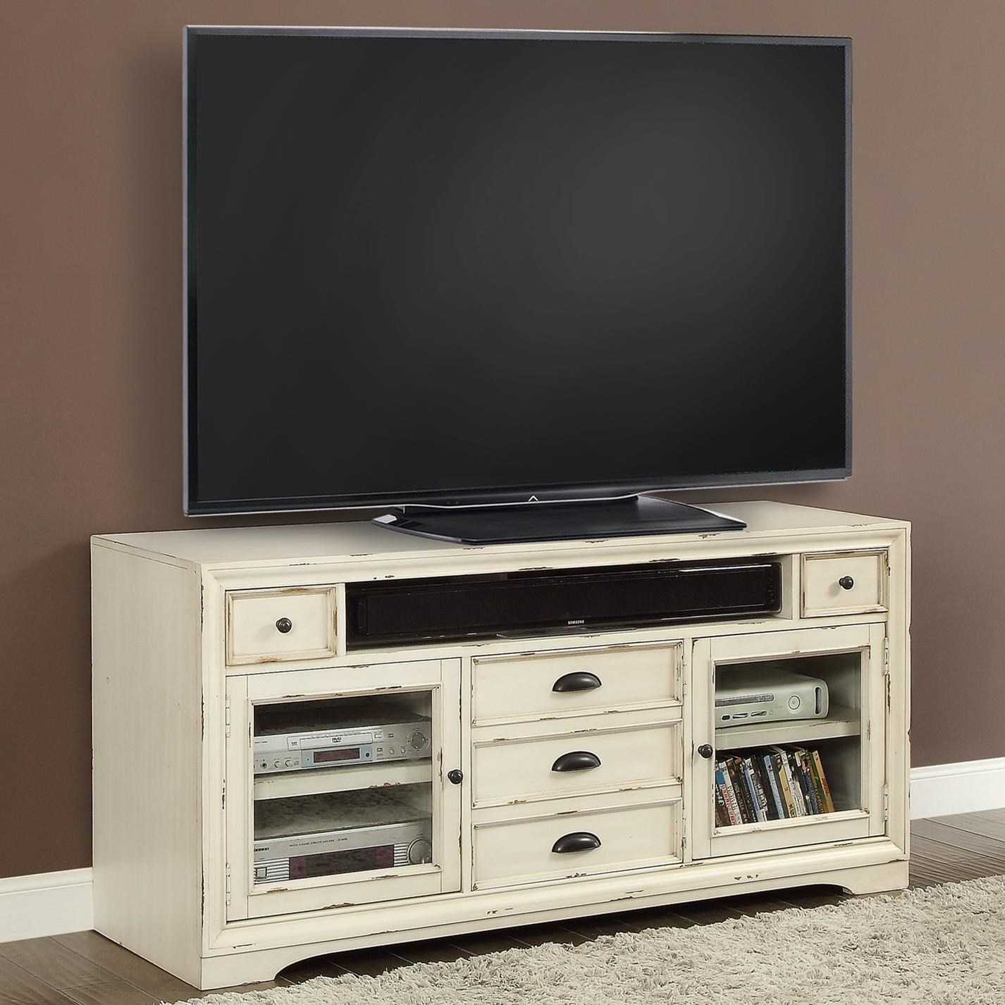 "Nantucket 63"" TV Console by Parker House at Baer's Furniture"