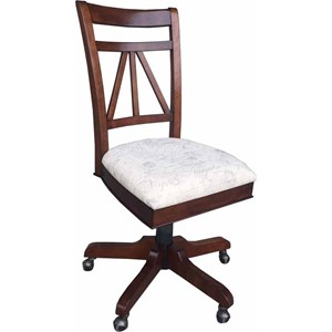 Parker House Napa Armless Desk Chair