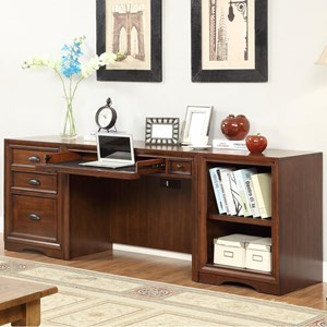 Parker House Napa 3 Piece Desk