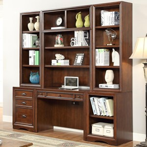 Parker House Napa 6 Piece Home Office Wall