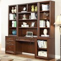 Parker House Napa 6 Piece Home Office Wall - Item Number: NAP-6-HO-FO