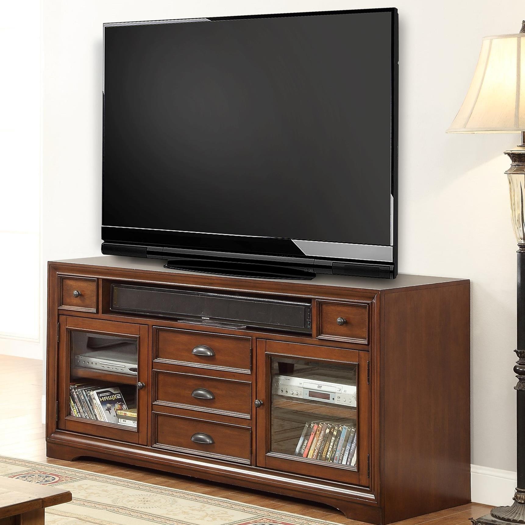 "Parker House Napa 63"" TV Console - Item Number: NAP-912"
