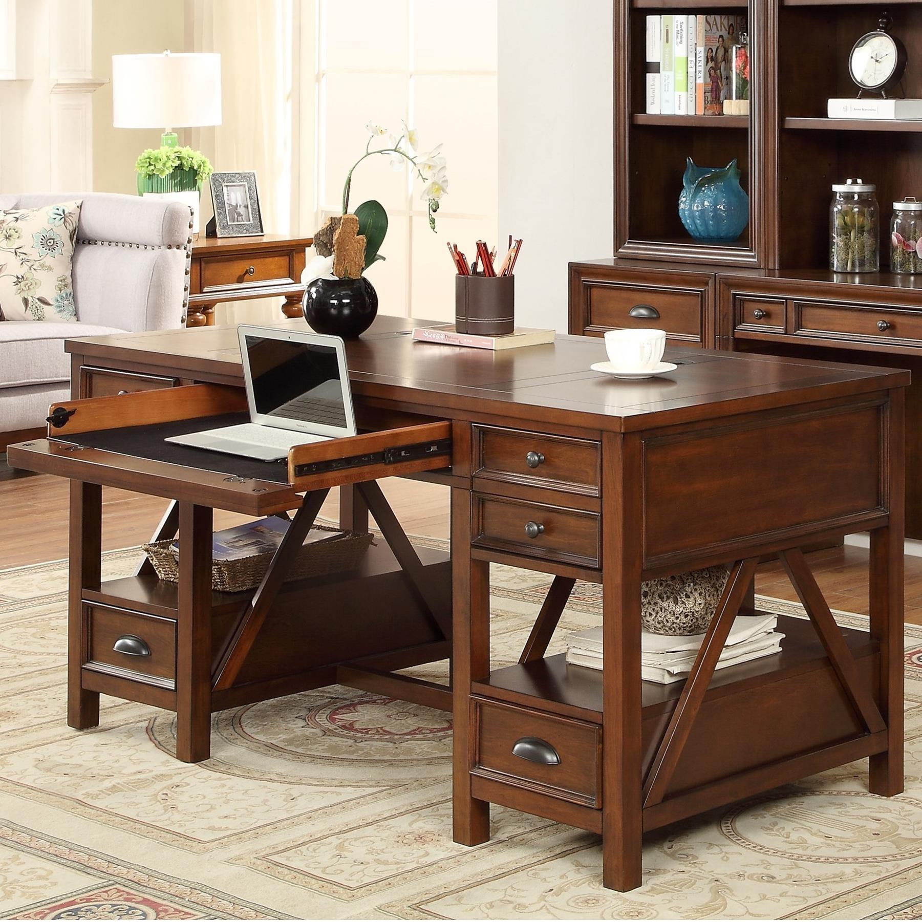 Parker House Napa Writing Desk - Item Number: NAP-985
