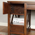 Parker House Napa Writing Desk with Keyboard Drawer