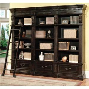 3-Piece Museum Bookcase