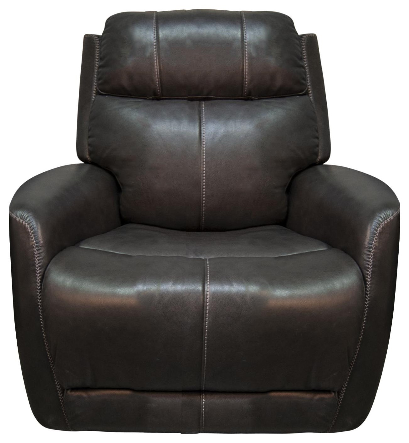Pravin Leather Match Power Recliner