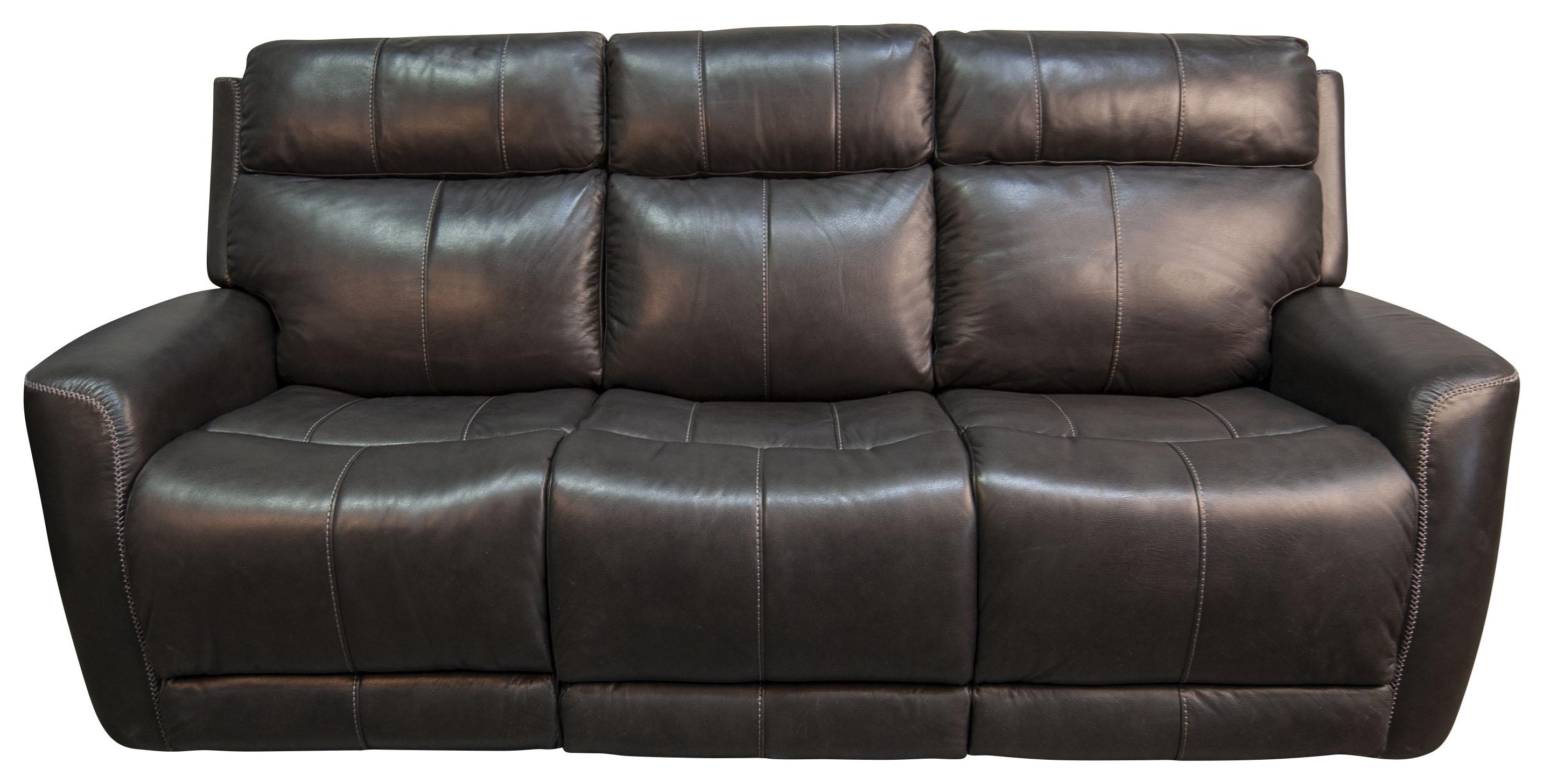 Pravin Pravin Leather Match Power Sofa by Parker House at Morris Home