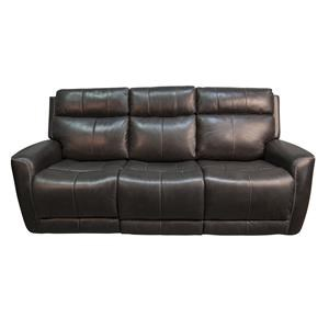 Pravin Leather Match Power Sofa