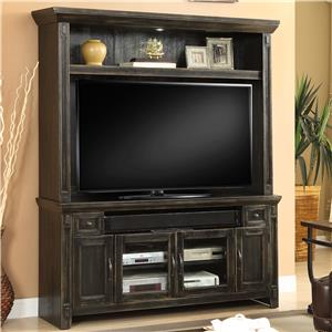 "Parker House Ridgecrest 62"" TV Console and Hutch"