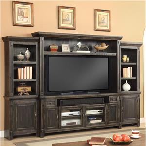 "Parker House Ridgecrest 72"" TV Console Entertainment Wall"