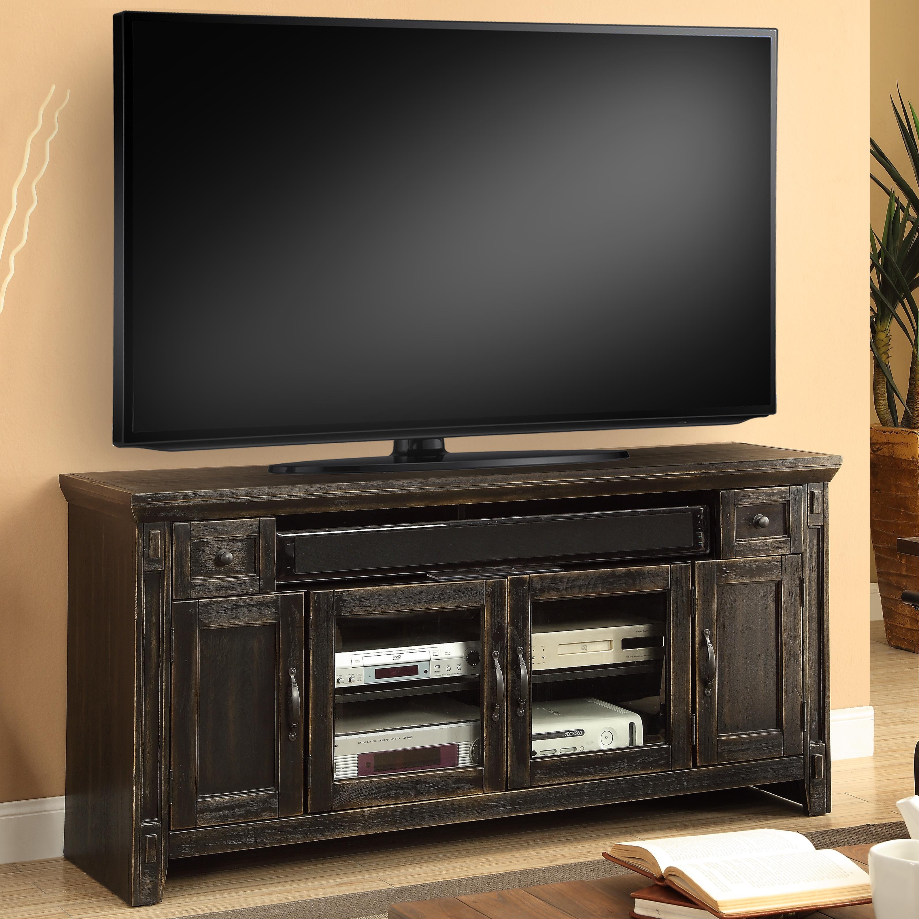 """Parker House Ridgecrest 62"""" TV Console - Item Number: RID-62"""