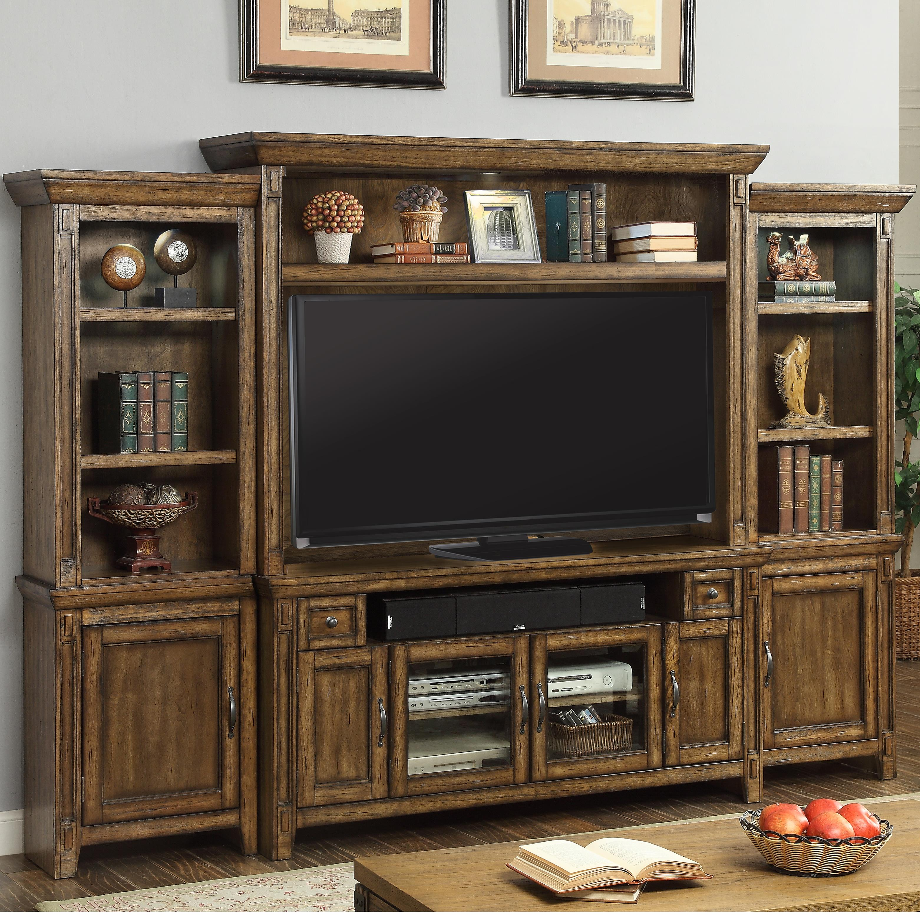 Parker House Riverbend Wall Unit with Storage - Item Number: Riv-162-4