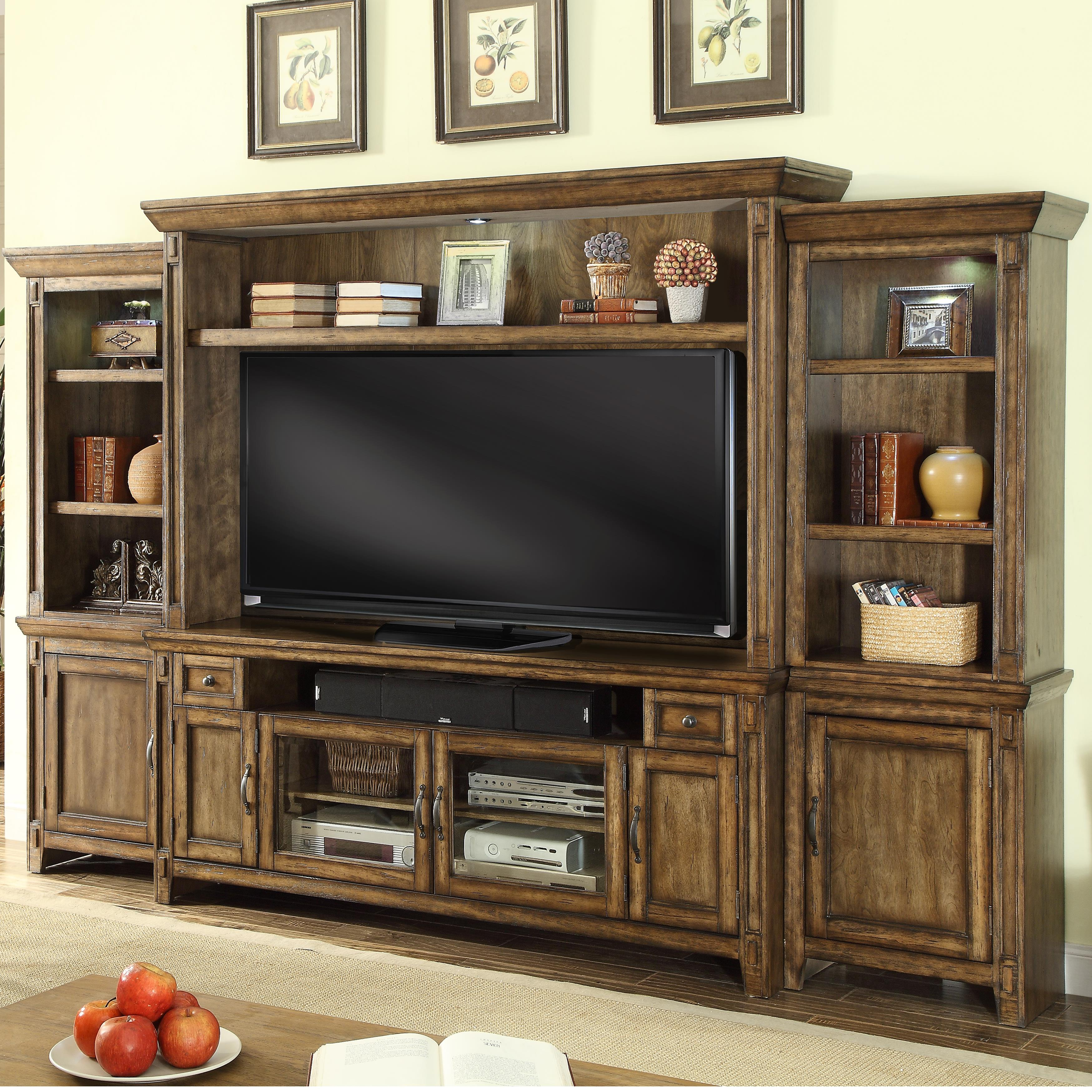 Parker House Riverbend Wall Unit with Storage - Item Number: RIV-172-4